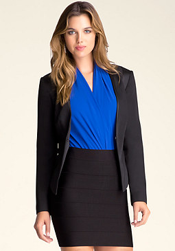bebe Katrina Power Blazer