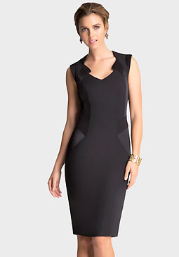 bebe Katrina Twill Dress