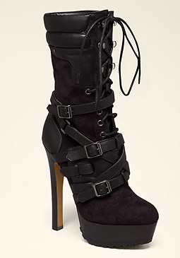 bebe Gwen Mid-Shaft Boots