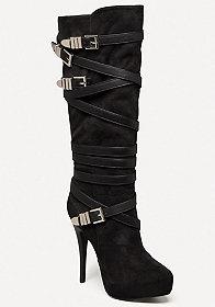 Sade High Shaft Boots at bebe