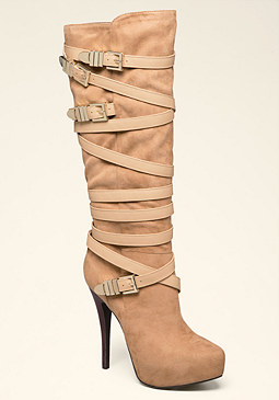 Sade High Shaft Boots at bebe
