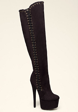 bebe Aylin Over Knee Boots