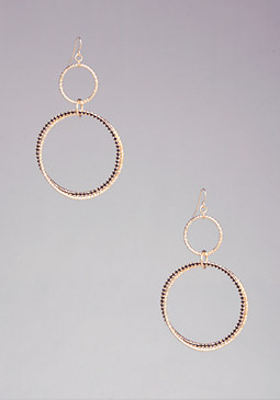 STATEMENT HOOP EARRINGS at bebe