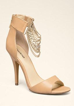 bebe Lorina Chain Sandals