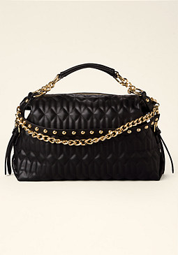 bebe Daniella Quilted Tote