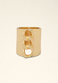 Chainlink Cocktail Ring at bebe