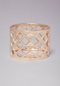 GEO HINGE CUTOUT BRACELET at bebe