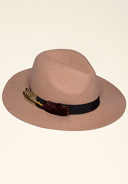 WOOL FEDORA at bebe
