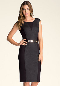 bebe Textured Cami Dress