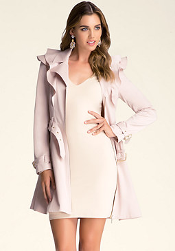 bebe Nicola Trench Coat