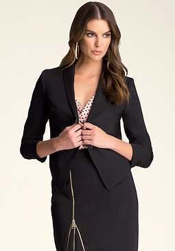 bebe Katrina One-Button Blazer