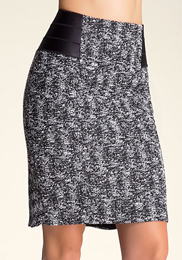 bebe Chloe Tweed Skirt
