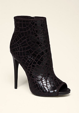 bebe Ramina Crocodile Booties