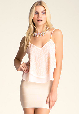 bebe Hannah Embellished Cami