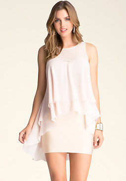 Hi-Lo Tiered Top at bebe