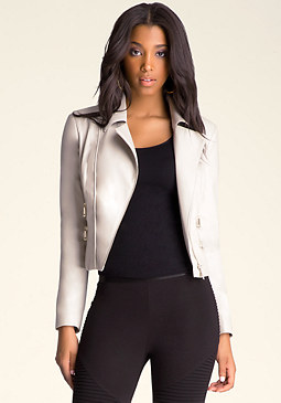 bebe Hannah Moto Jacket