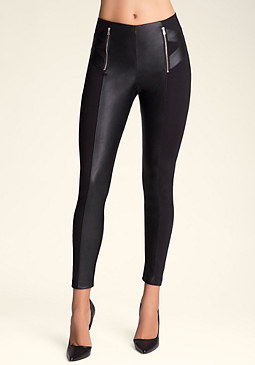 Cross Hip Leggings at bebe