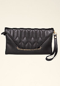 bebe Daniella Quilted Wallet