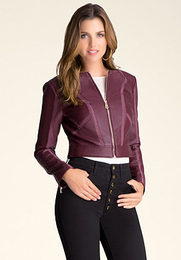 bebe Emma Parallel Jacket
