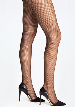 bebe Fishnet Tights