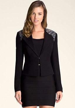 bebe Katrina Embellished Jacket