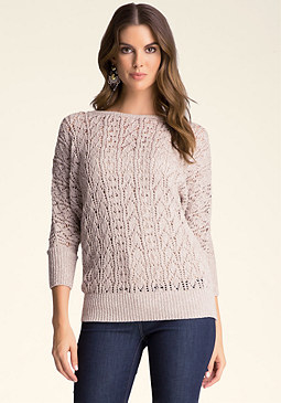 bebe Dolman Knit Sweater ���