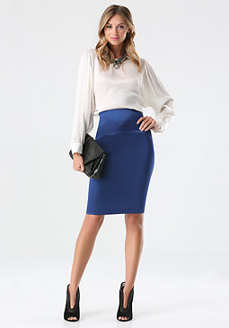 bebe Tiana Pencil Skirt