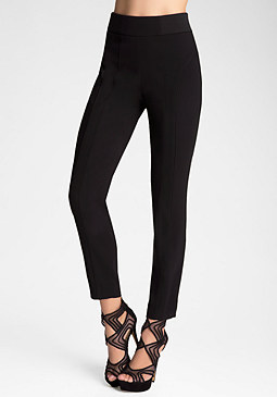 bebe Seamed Skinny Pants