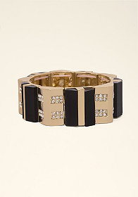 bebe Art Deco Stretch Bracelet