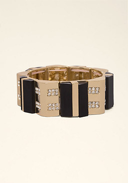 bebe Art Deco Stretch Bracelet