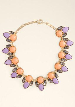 bebe Opaque Stone Necklace