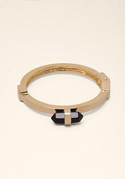 bebe Stone Hinge Bracelet