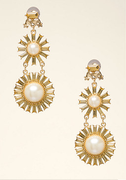 bebe Starburst Earrings