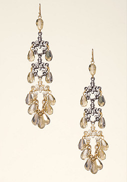 bebe Beaded Duster Earrings