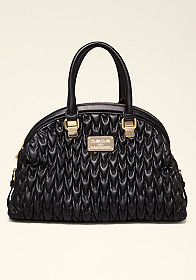bebe Francesca Quilted Dome Bag