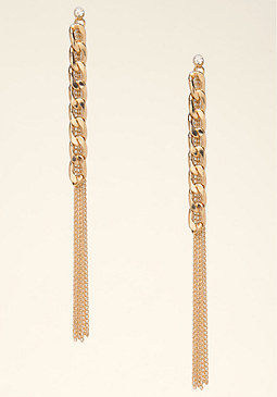bebe Chain Duster Earrings