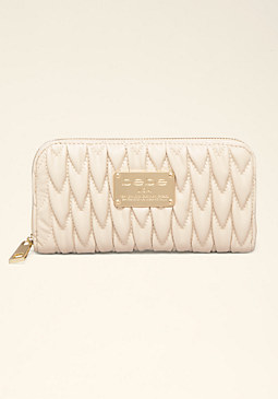 bebe Francesca Quilted Wallet