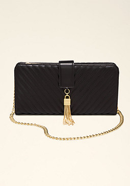 bebe Amelie Quilted Wallet