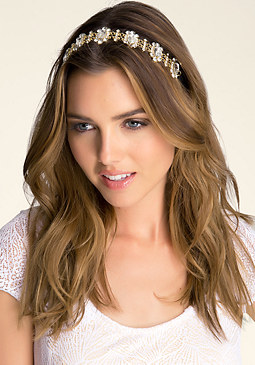 bebe Embellished Soft Headband