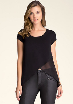 bebe Asymmetric Top