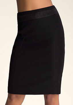 bebe Katrina Pleated Skirt