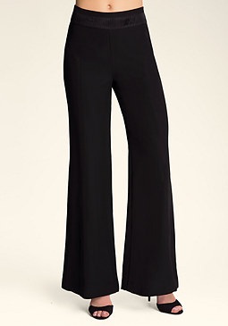 bebe Katrina Wide Leg Trousers