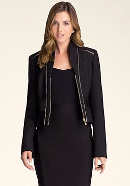 bebe Izzy Zipper Jacket