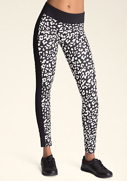 bebe Print Leggings
