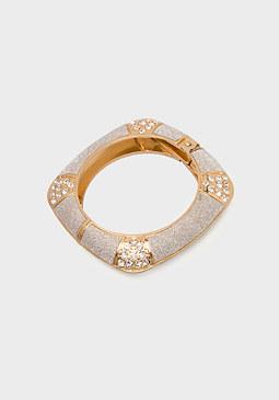 bebe Glitter Hinge Bracelet