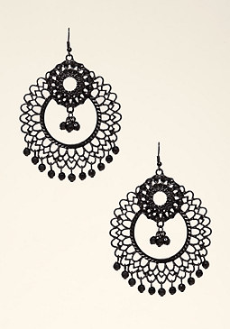 bebe Tonal Statement Earrings