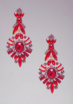 bebe Multicolor Drop Earrings
