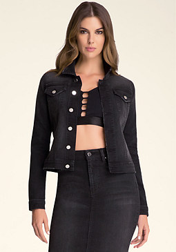bebe Harlow Denim Jacket