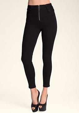 bebe Black Schiffer Skinny Jeans