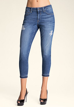 Slim Girlfriend Jeans at bebe